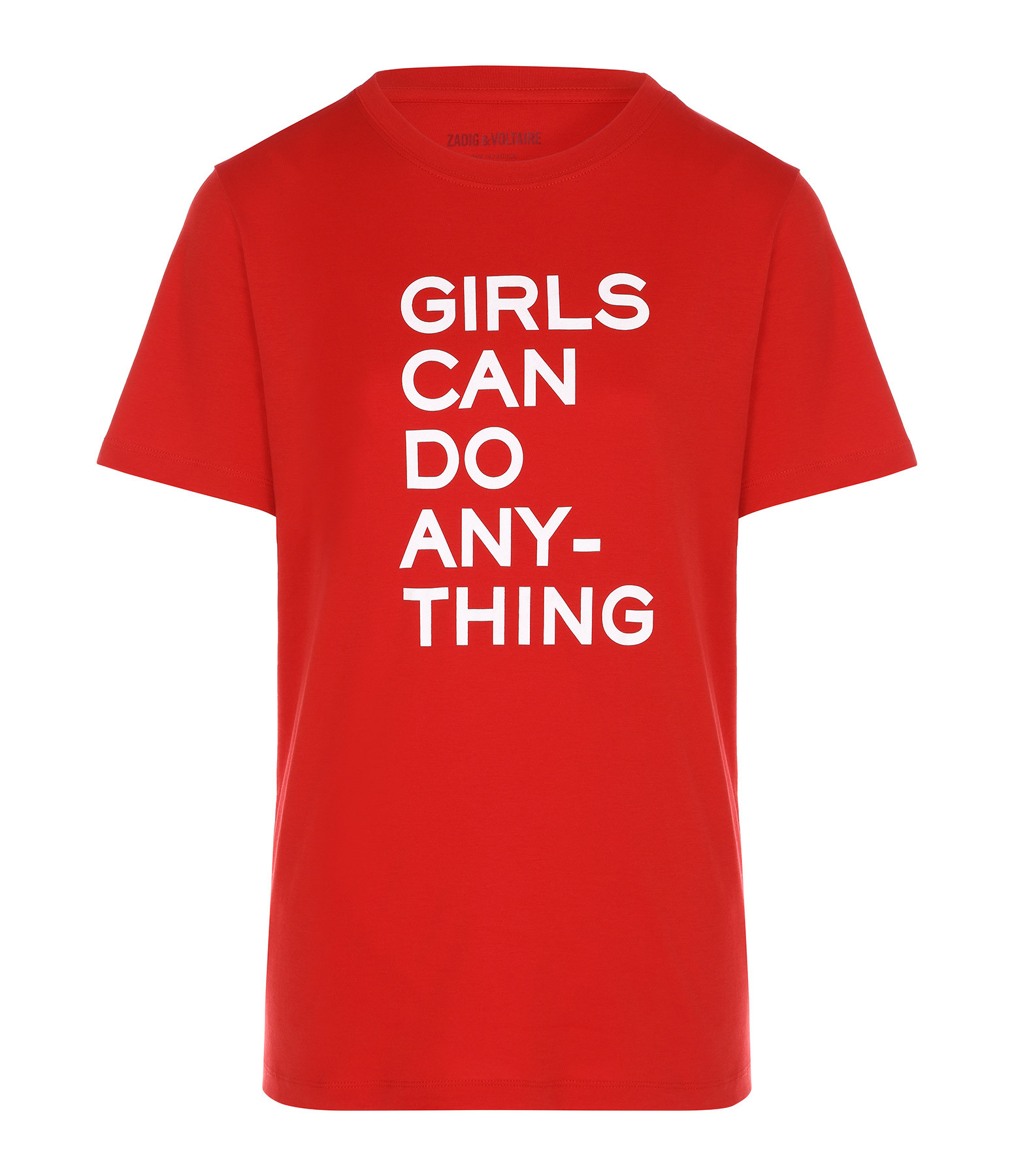 ZADIG & VOLTAIRE - Tee-shirt Bella Girls Coton Passion