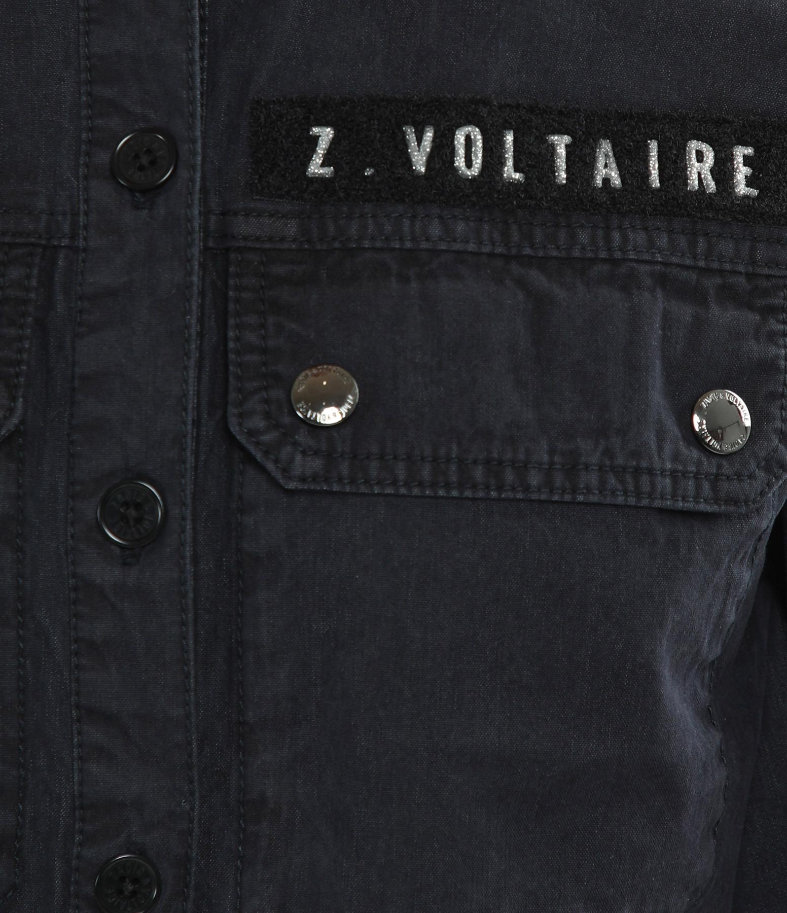 ZADIG & VOLTAIRE - Combinaison Catsy Mili Coton Myrtille