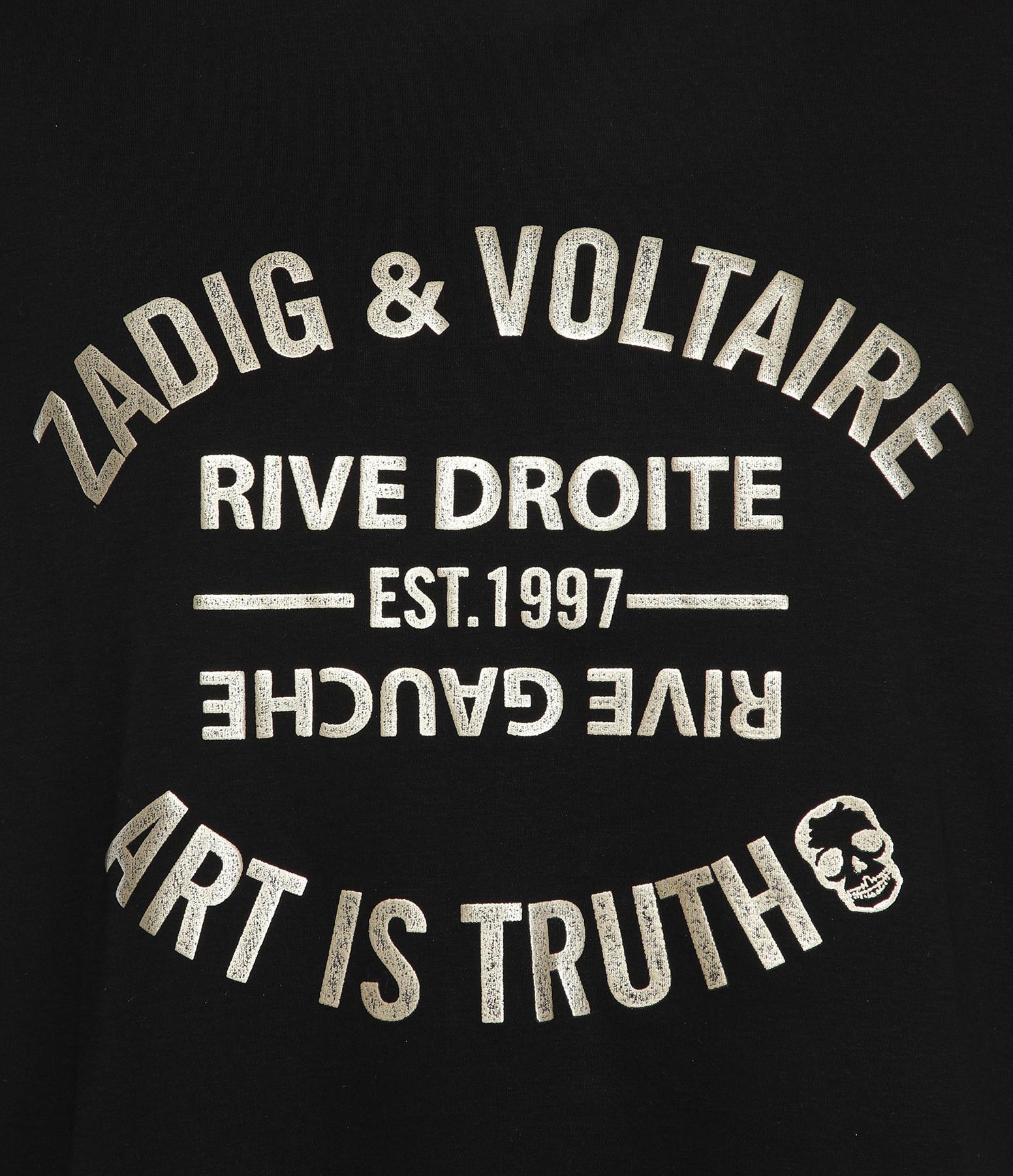 ZADIG & VOLTAIRE - Tee-shirt Azedi Coton Noir