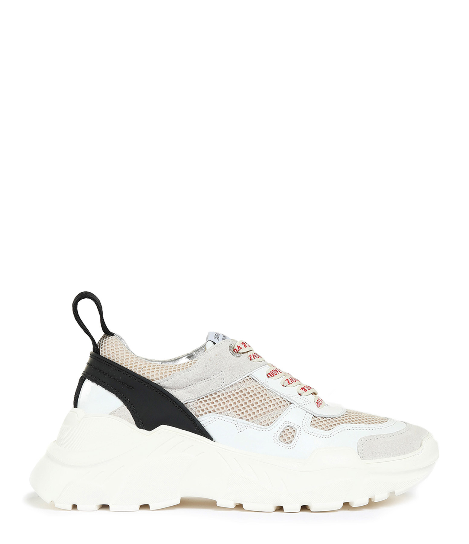ZADIG & VOLTAIRE - Running Future Cuir Blanc