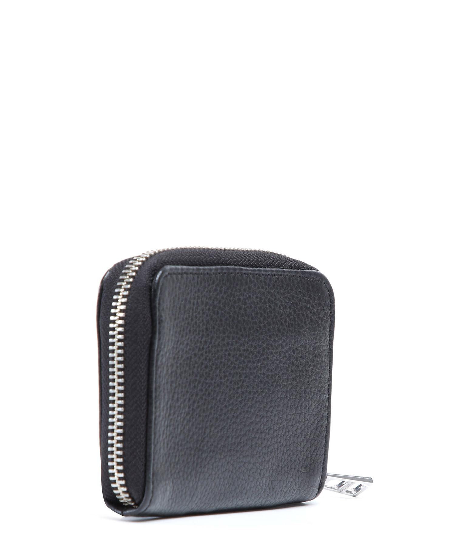 ZADIG & VOLTAIRE - Porte-monnaie Mini ZV Cuir Noir