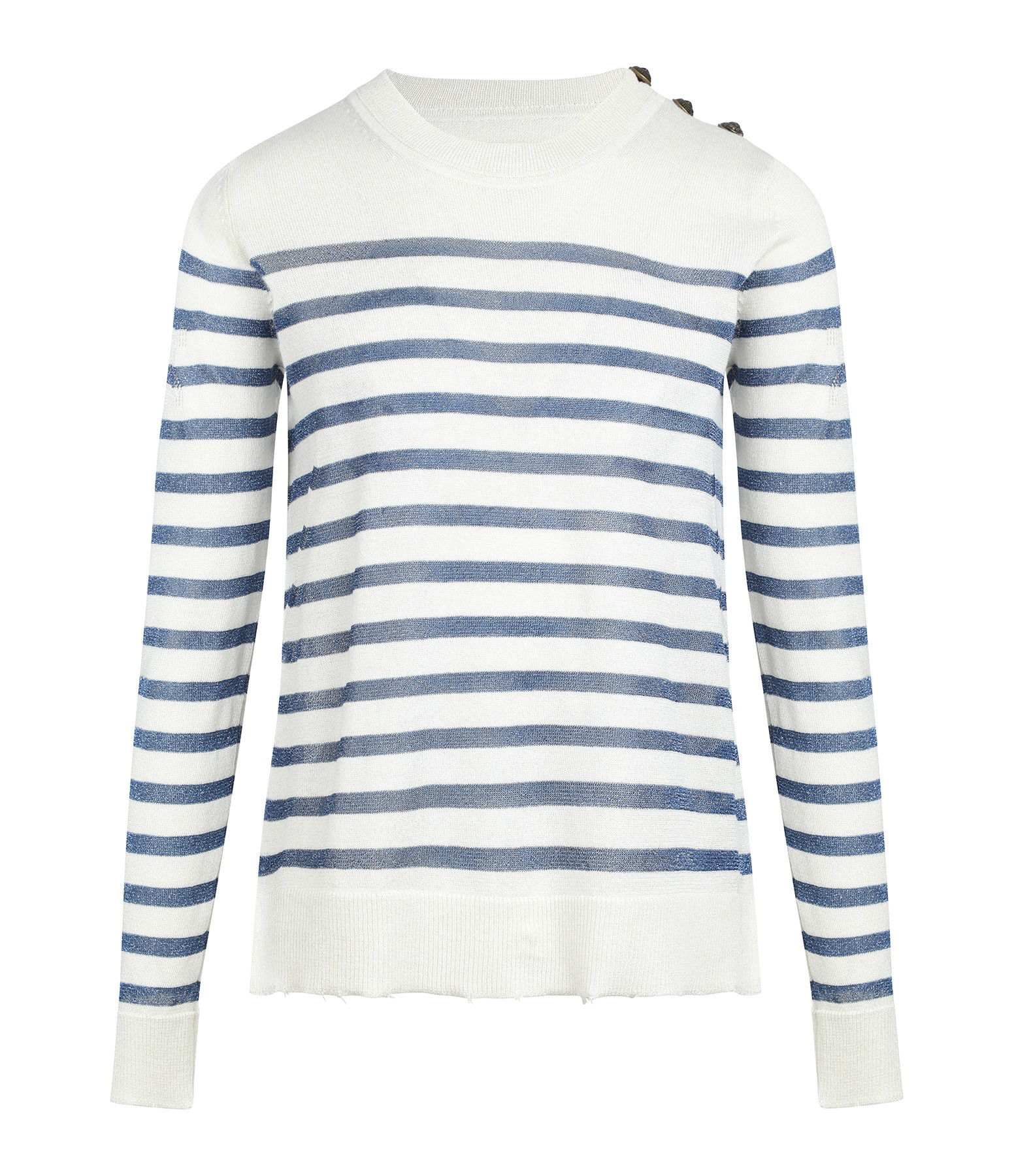 ZADIG & VOLTAIRE - Pull Miss ML Rayures Toile