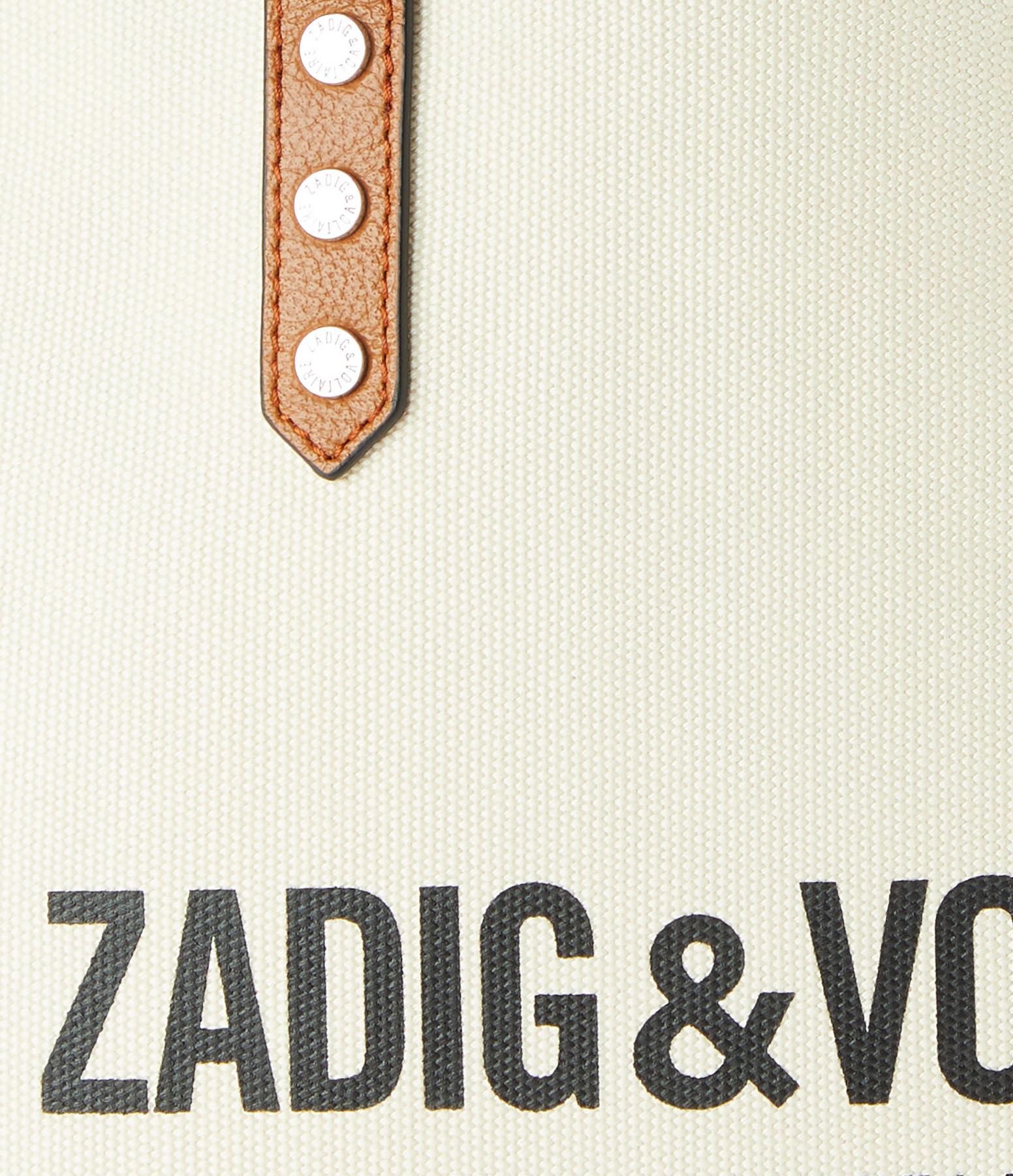ZADIG & VOLTAIRE - Sac Mick Canvas Coton Flash