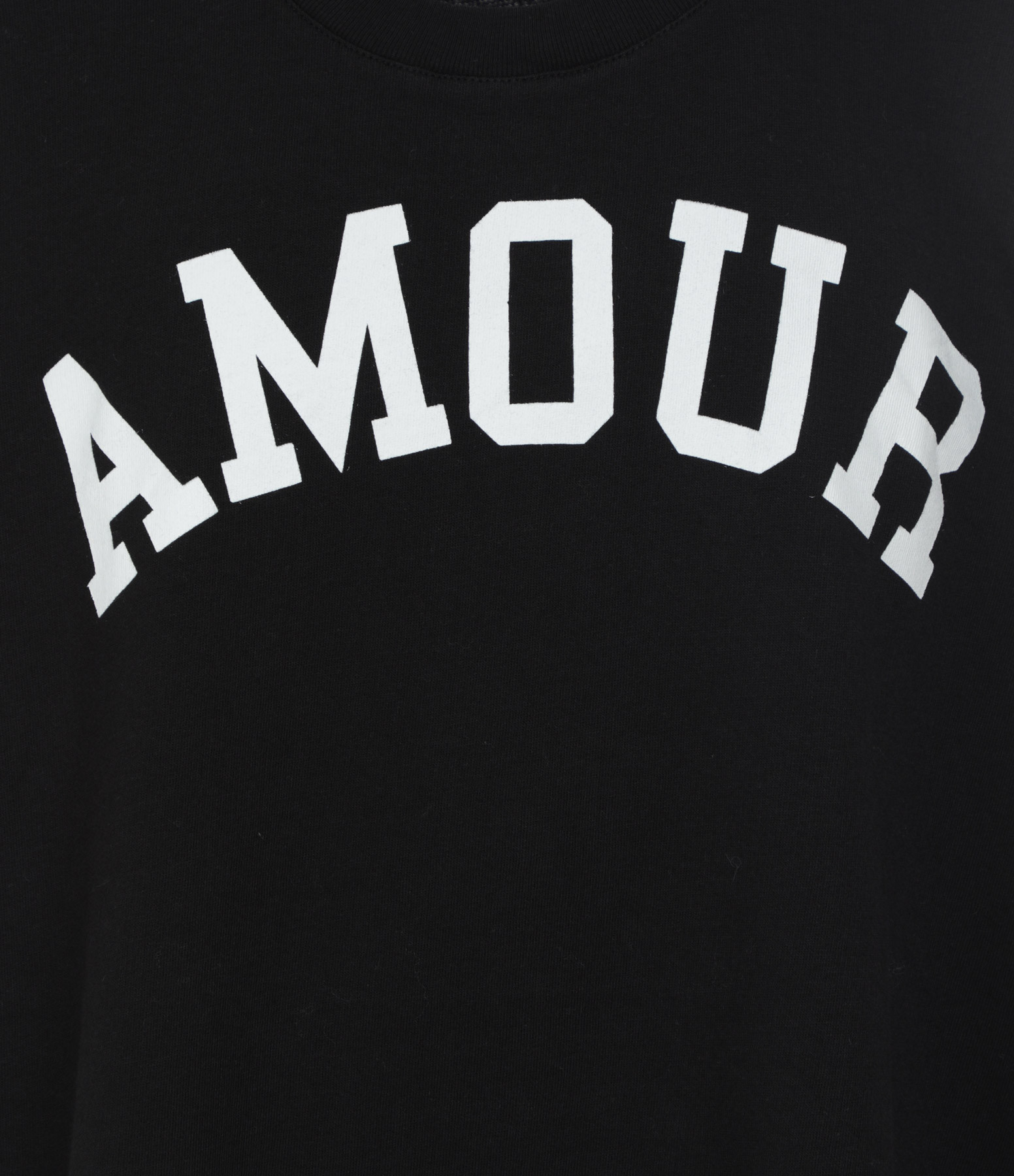 ZADIG & VOLTAIRE - Sweatshirt Portland Amour Coton Modal Noir