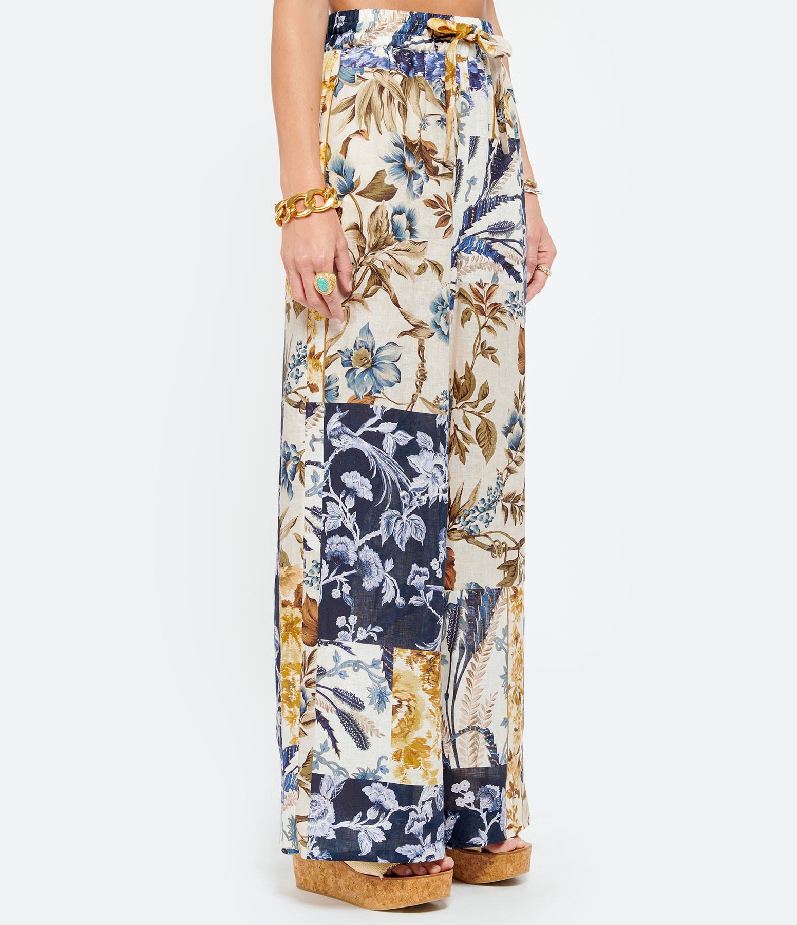 ZIMMERMANN - Pantalon Aliane Imprimé Floral