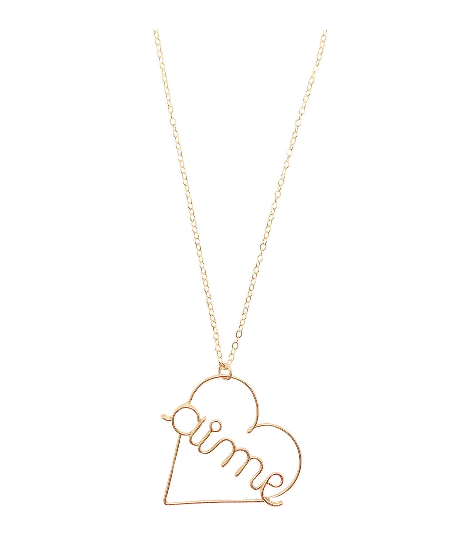ATELIER PAULIN - Collier Aime PM Gold Filled 14K, Atelier Paulin x Inside Closet