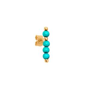 Boucle d'oreille Origines Colors Magnésite (vendue à l'unité)