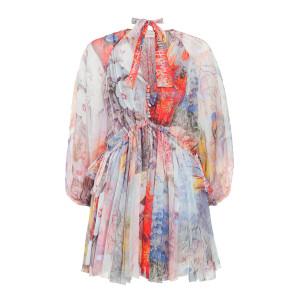 Robe Luminous Imprimé Floral