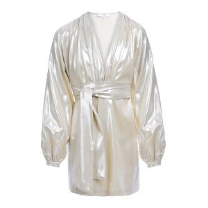 Robe Lisa Coton Lurex Doré