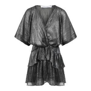 Robe Wide Noir Argenté, Exclusivité Lulli