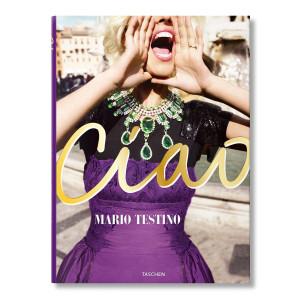 Livre Mario Testino, Ciao, Omaggio All'Italia