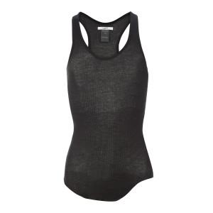 Tee-shirt Louisa Coton Noir