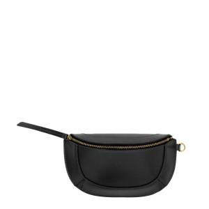 Mini Pochette Bossey Bandoulière Cuir Noir