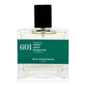 Eau de Parfum #601 Vétiver, Cèdre, Bergamote, 100 ml