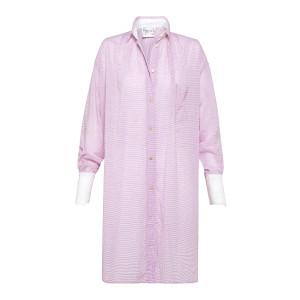 Robe Oversize Coton Violet