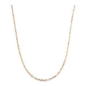 Chaîne Forçat Diamantée 50cm - Joaillerie