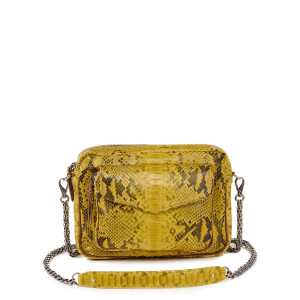Sac Big Charly Python Jaune