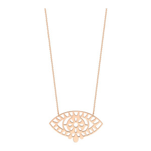 Collier Ajna Or Rose