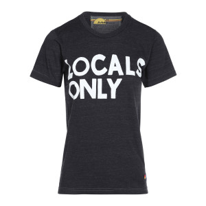 Tee-shirt Locals Coton Charbon