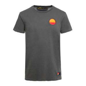 Tee-shirt Sunrise Charbon Vintage