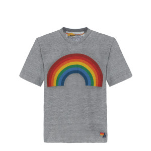 Tee-shirt Rainbow Gris Chiné