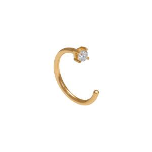 Créole Candy Arc Diamant Or (vendue à l'unité)