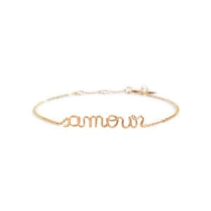 Bracelet Richelieu Amour Gold Filled