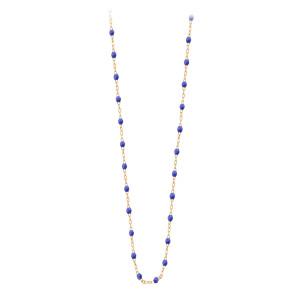 Collier Perles Résine 60 cm