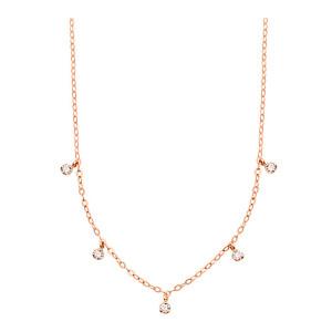 Collier 5 Diamants Gigi Or