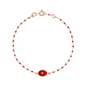 Bracelet Étoile du Nord Mini Perles Résine Or Diamant