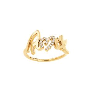 Bague Rock Diamants Or Jaune