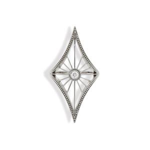 Bague Cheyenne Losange Diamant Or Blanc