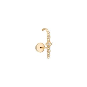 Boucle d'oreille Bouton Belle Epoque GM Diamants (vendue à l'unité)
