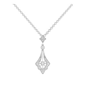 Collier Belle Epoque Or Diamants