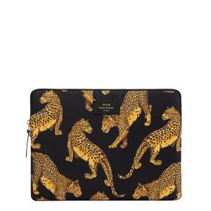 Housse 13'' Black Leopard
