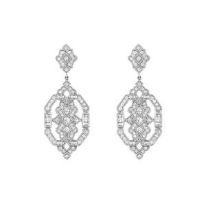Boucles d'oreilles Garbo Or Diamants