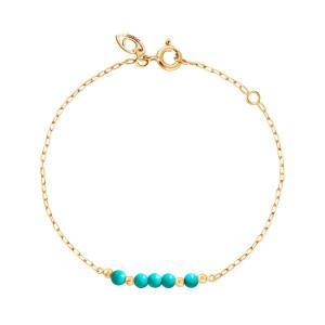 Bracelet Origines Color Magnésite Or Jaune