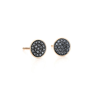Boucles d'oreilles Black Diamonds Icons Diamants Or Rose