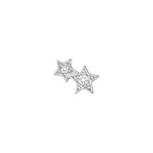 Boucle d'oreille Bouton Stardust (vendue à l'unité)
