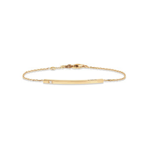 Bracelet Hash One Diamant Or Jaune