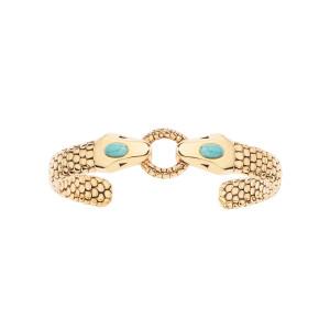 Bracelet Tao Turquoise Plaqué Or