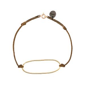 Bracelet Chic Ano Argent Doré