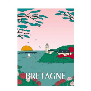 Affiche Bretagne 50x70cm