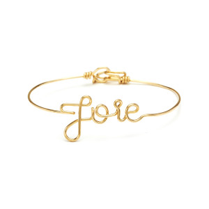 Jonc Fil Joie Gold Filled