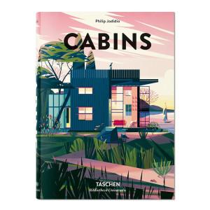 Livre Cabins, La vie dans les bois