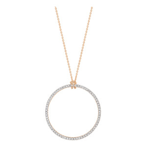 Collier Diamond Circle Baby Diamants