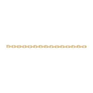 Chaîne Forçat Diamantée 1,2mm 55cm