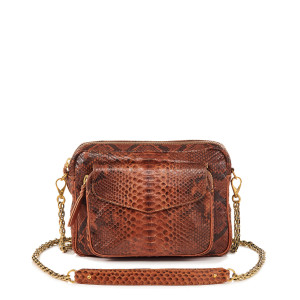 Sac Big Charly Python Moka
