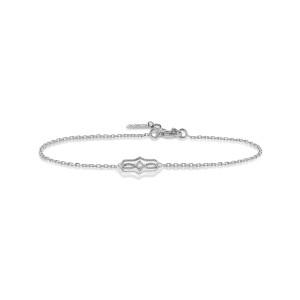 Bracelet Calypso Diamants Or Blanc