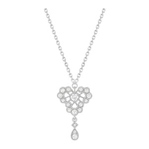 Collier Crush Diamants Or Blanc